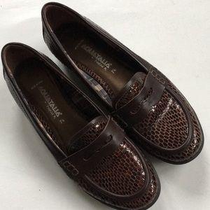Like new Aquatalia leather shoes